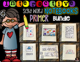 Interactive Sight Words Notebook Primer {Growing Bundle}