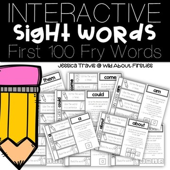 Interactive Sight Words (The First 100 Fry Words)