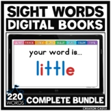 Interactive Sight Words for Google Slides™ GROWING Bundle