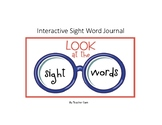 Interactive Sight word Journal