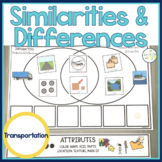 Similarities and Differences Transportation   Interactive Speech Therapy