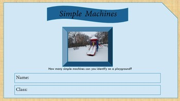 Interactives Simple Machines Digital Journal