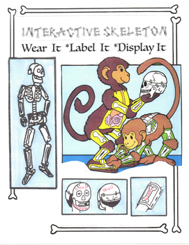 Interactive Skeleton: Wear It - Label It - Display It
