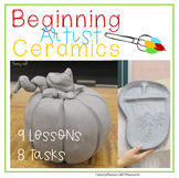 Interactive Sketchbook: Beginners Ceramic Lessons