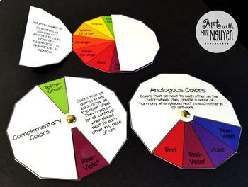 Interactive Sketchbook: Color Scheme Wheels