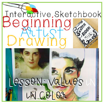 Interactive Sketchbook Lesson: Draw With Color