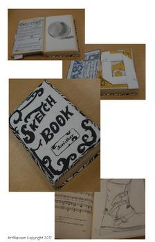 Interactive Sketchbook: Upcycled Journal or Sketchbook