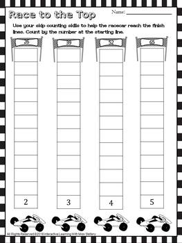 Skip Counting Interactive Printables