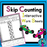 Skip Counting Interactive Printables