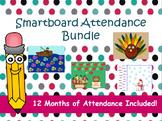 Interactive Smartboard Attendance Mega Bundle: 12 Months Included