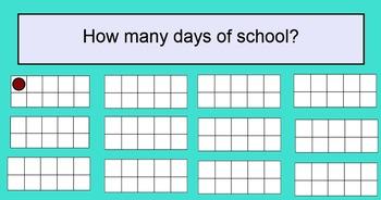 Interactive Smartboard Calendar