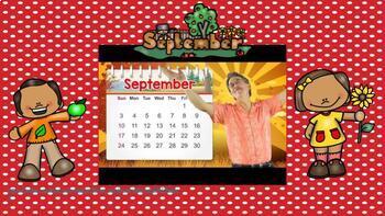 Interactive/Smartboard Calendar time for September