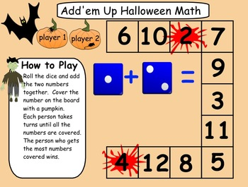 Interactive Smartboard Halloween Math and Language Gr. 1