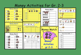 Interactive Smartboard Money Activities for Gr 2-3 (US Coins)