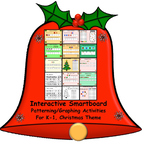 Interactive Smartboard Patterning/Graphing Activities for K-1 Christmas Theme