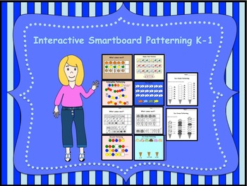 Interactive Smartboard Patterning for K-1