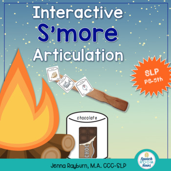 Interactive S'more Articulation Activity: Summer Speech