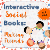 Interactive Social Books: Making Friends