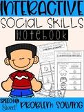Interactive Social Skills Notebook: Problem Solving