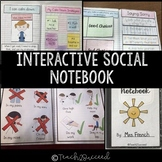 Interactive Social Skills Notebook for special education - distance learning