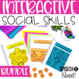 Interactive Social Skills Notebooks {Growing Bundle for Speech Therapy}