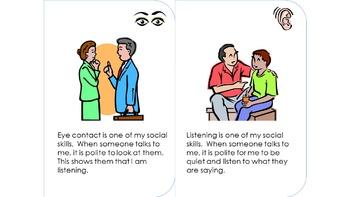 Interactive Social Skills Social Story