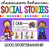 Interactive Social Stories - Good Sportsmanship! Winning and Losing
