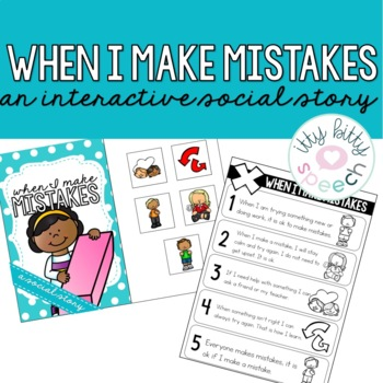 Interactive Social Story - Making Mistakes