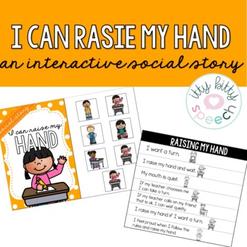 Interactive Social Story - Raising my Hands