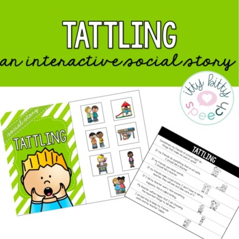 Interactive Social Story - Tattling