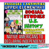 Interactive Social Studies Notebook: American Revolution and More