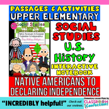 Interactive Social Studies Notebook: American Revolution a