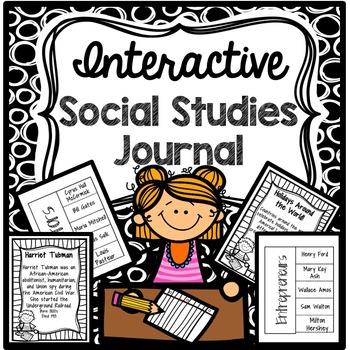 Interactive Social Studies Journal (Multi-Level)