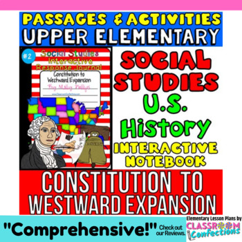 Social Studies Interactive Notebook: US Government: Westward Expansion: History