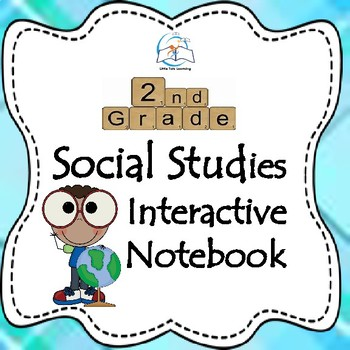 Social Studies Digital Interactive Notebook 2nd Grade