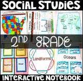 Social Studies Interactive Notebook for 2nd Grade