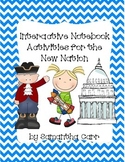 Interactive Social Studies Notebook Activities: New Nation!