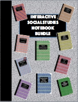 Interactive Social Studies Notebook Bundle