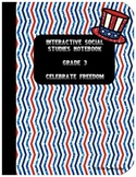 Interactive Social Studies Notebook Celebrate Freedom