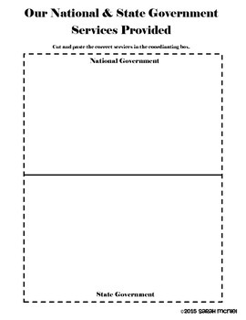 Interactive Social Studies Notebook Citizens and Government