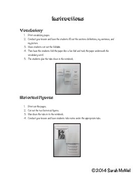 Interactive Social Studies Notebook Cultural Characteristics of Communities