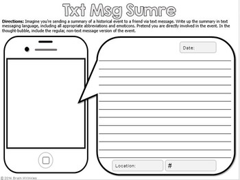 Interactive Social Studies Notebook Kit  -- SAMPLE!