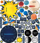 Interactive Solar System Wall Play Set