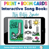Interactive Song Book: Itsy Bitsy Spider