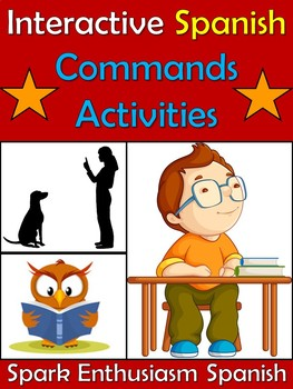 Interactive Spanish Commands Activities including Notes, Dance and Songs