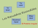 Interactive Spanish Irregular Preterite Activity (Powerpoint)