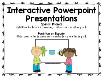 Interactive Spanish Phonics - Lesson 16