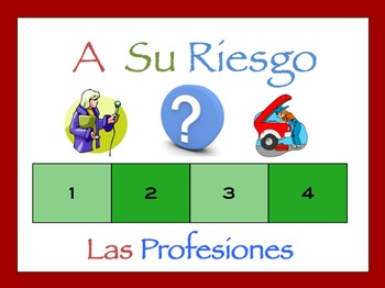 Spanish Jobs and Professions Interactive Activity, Powerpo