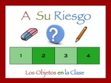 Spanish Classroom Objects Interactive Activity, Powerpoint Game