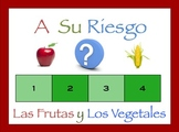 Spanish Fruits and Vegetables Interactive Activity, Powerpoint Game